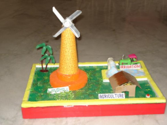 Working model of windmill