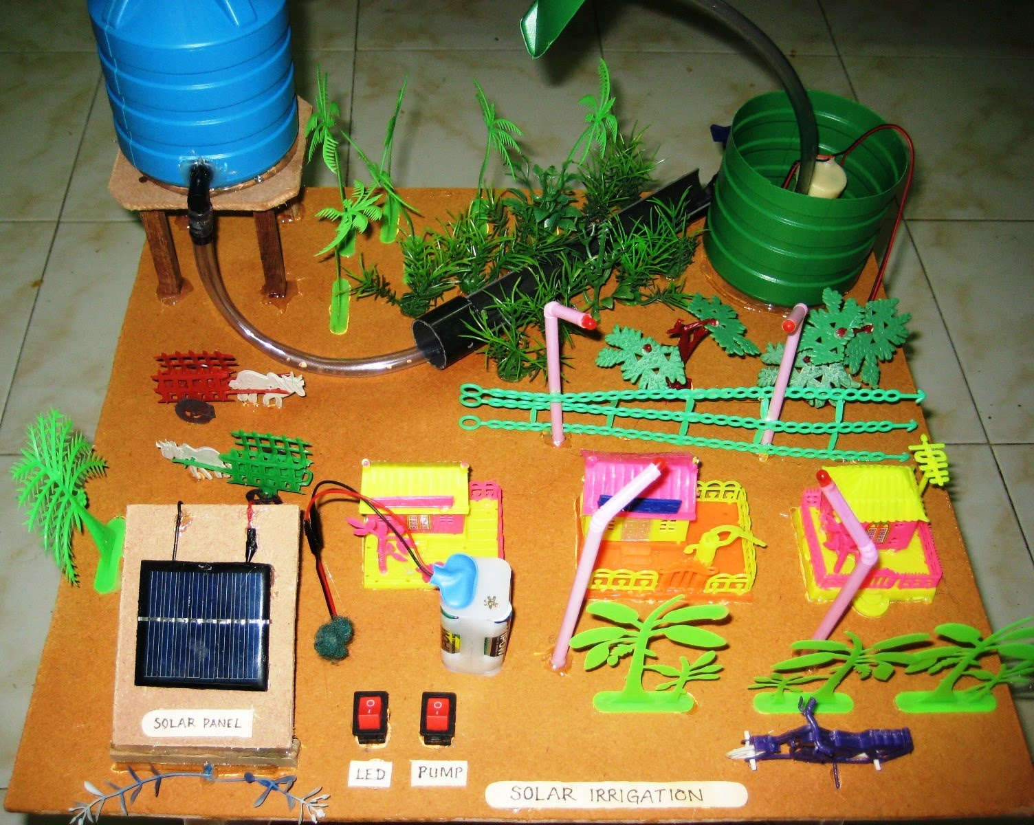 Working Model On Thermal Power Plant Schoolproject In