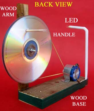 Generate electricity from Motor