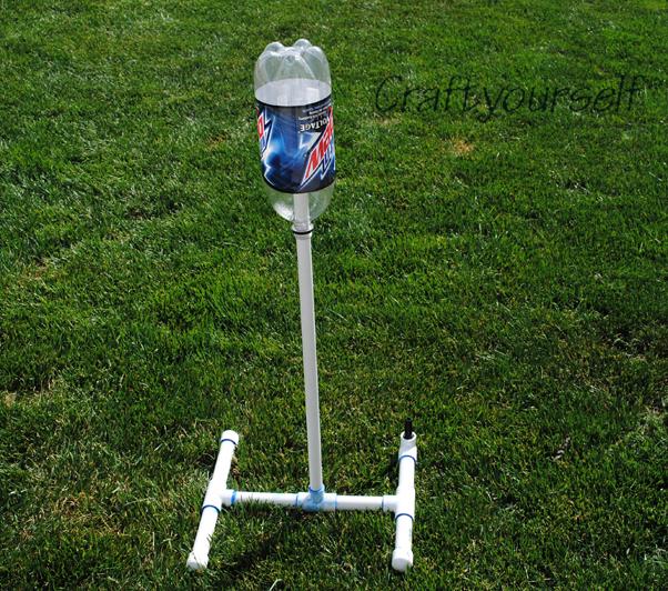 Water Bottle Rocket Science Project: Water Bottle Rocket Launcher