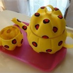 teapot using waste material
