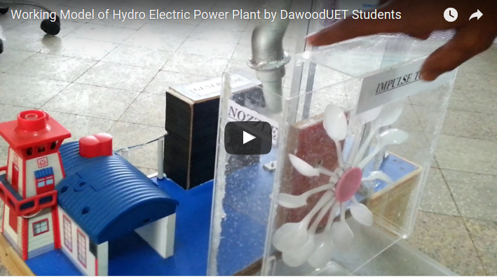 Working model of Hydro Power Electric Station For Class 10 and 9