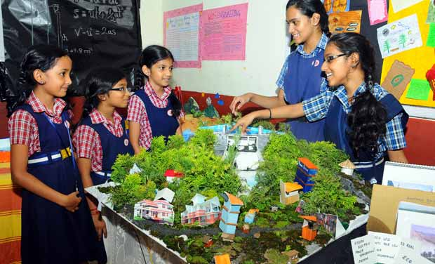 Working models for class 8 on agriculture and technology