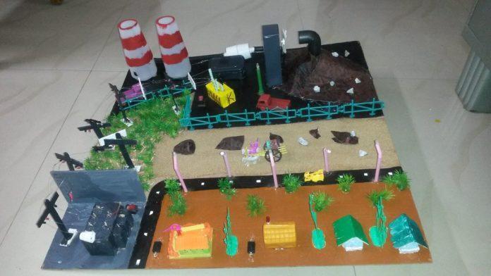 Best working model on school exhibition 2020