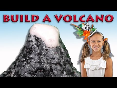 3rd grade project on Volcano for kids