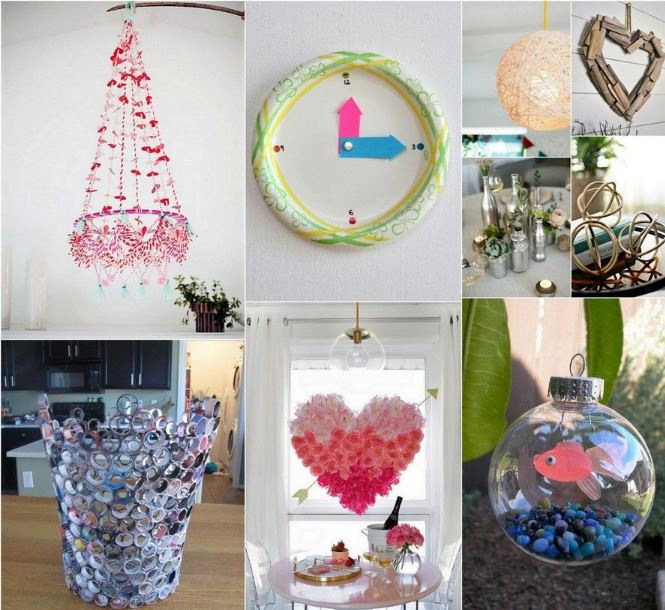 DIY Homemade Creative Craft Ideas For Home Decor